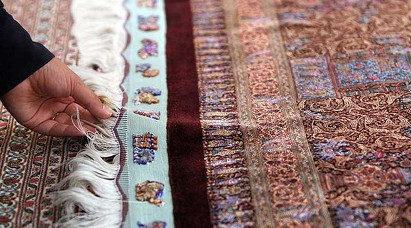 finely knotted, Persian silk, Qum Silk carpets, silk rugs, superior